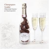 Champagnertrüffel in  Originalflasche